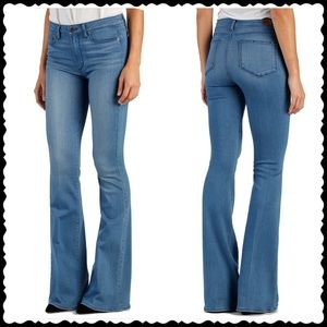 Paige Transcend Jeans High Rise Bell Canyon Flare
